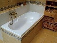 установка ванны в квартире